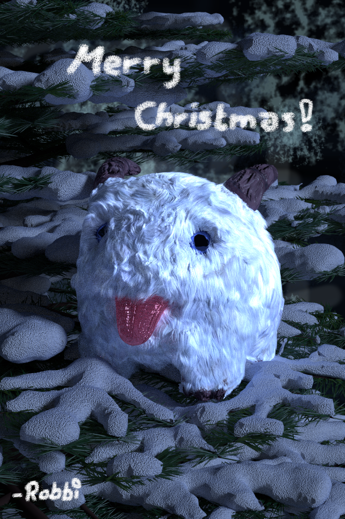 Chritmas Poro Render