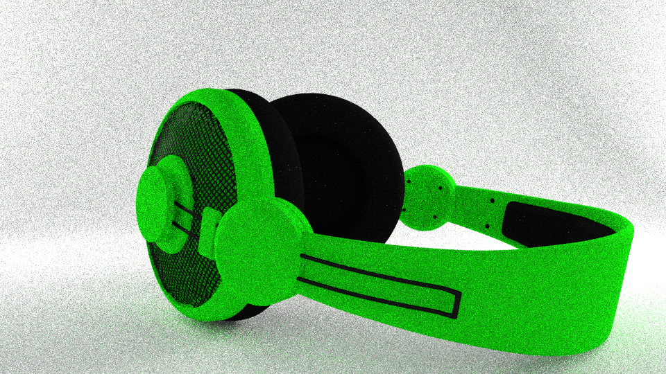 Headset Cycles Render