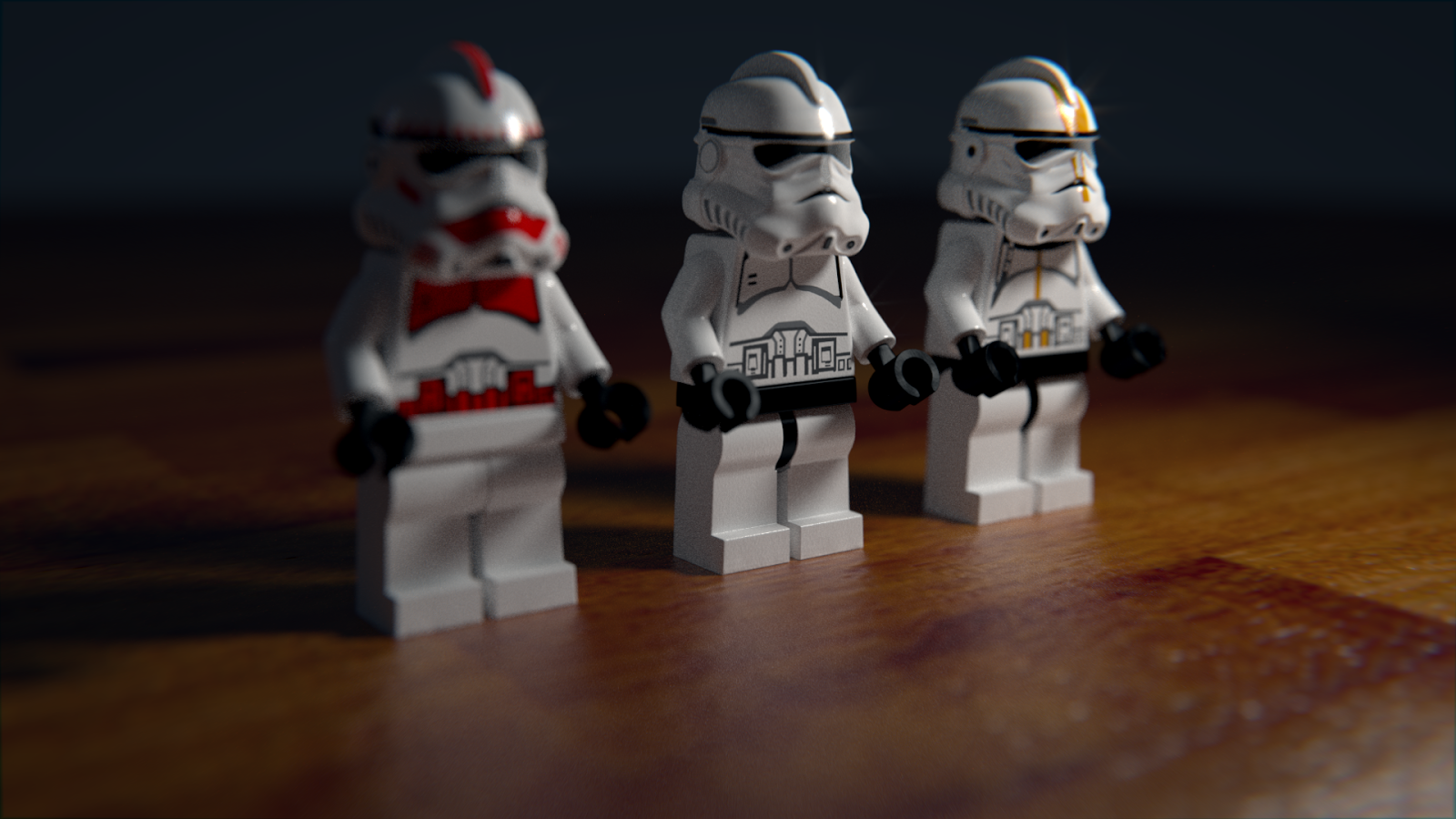Lego minifigure Blender cycles render