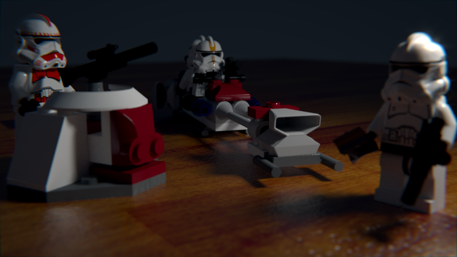 Lego Star Wars Blender Render