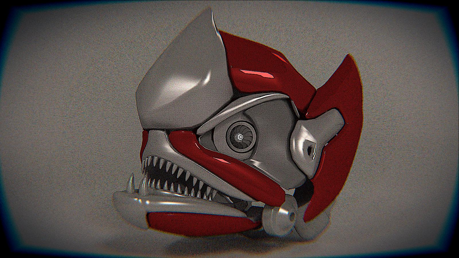 Vintage Decepticon Head