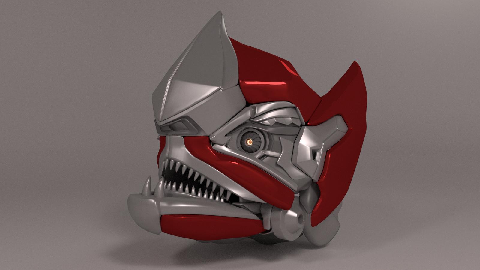 Decepticon Head Details