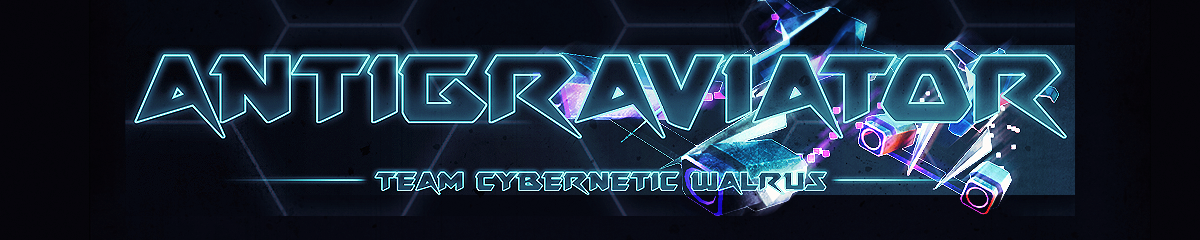 Antigraviator Header, Team Cybernetic Walrus