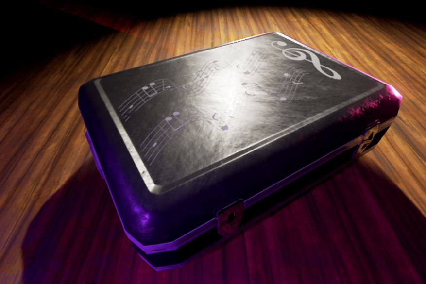 Unreal engine 4 screenshot pbr clarinet case