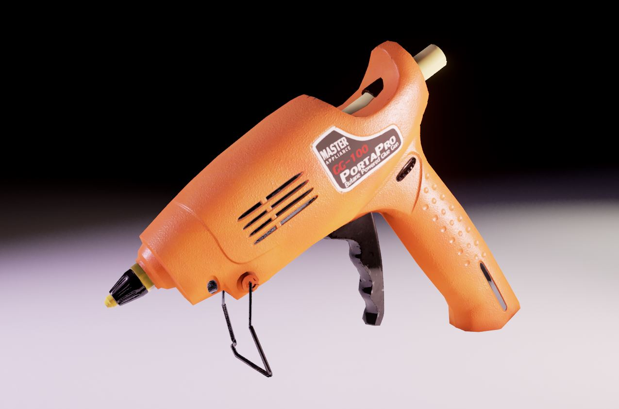 glue gun screenshot render unreal engine 4 physically based rendering